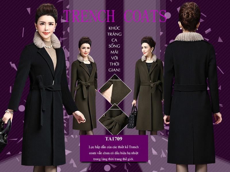 Lực hấp dẫn của các thiết kế Trench coats vẫn chưa có dấu hiệu hạ nhiệt trong làng thời trang thế giới