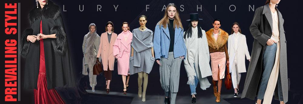Thời trang áo khoác dạ nữ hàn quốc cao cấp tại Lury