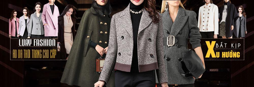 áo khoác dạ nữ thời trang nữ cao cấp tại lury