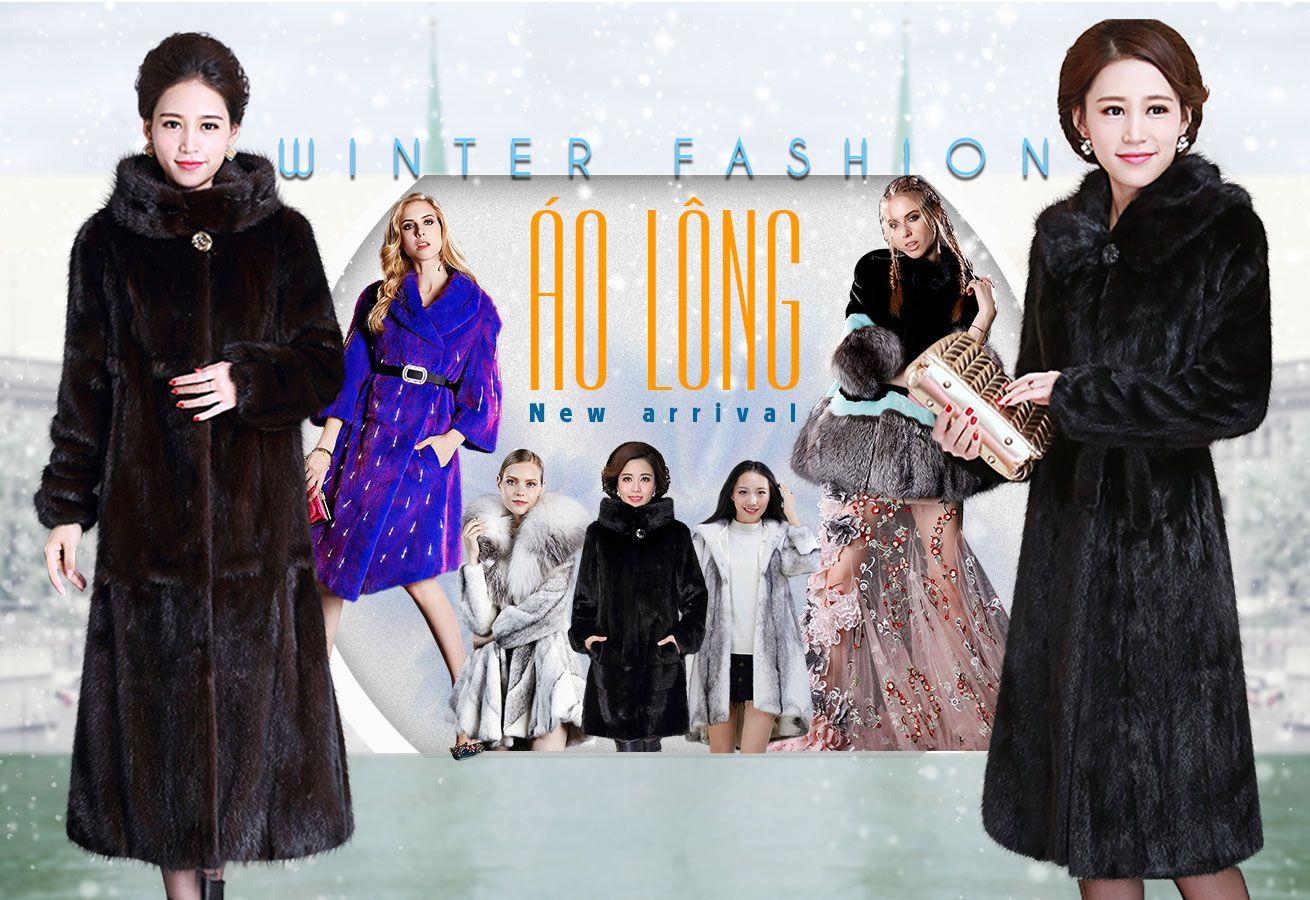 quảng cáo áo khoác dạ nữ cao cấp lury