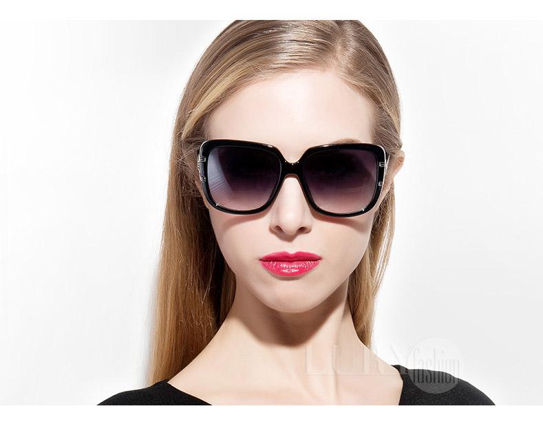 Kính nữ mắt vuông gọng cách điệu thời trang