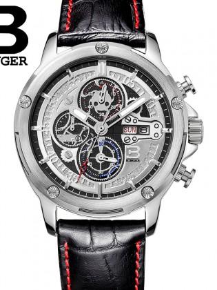 Đồng hồ nam dây da cao cấp DH916