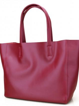 Túi xách tay big size phong cách Âu Mỹ màu đỏ đẹp TU1546
