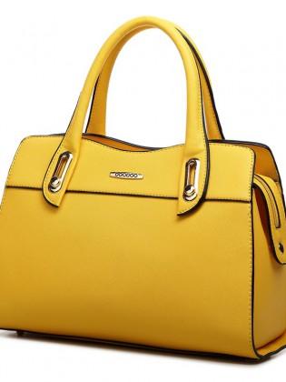 Túi xách nữ màu vàng thời trang TU1542