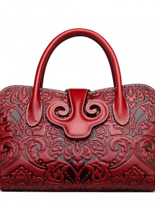 Túi xách nữ cao cấp hoa văn phục cổ sang trọng TU1530