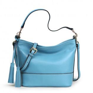 Túi hộp nữ màu xanh dương thời trang TU1512
