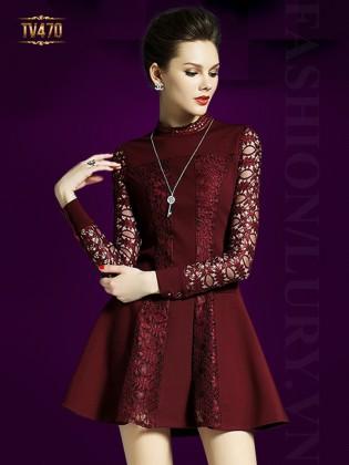 Thời trang váy đầm dạ hội ngắn trẻ trung gợi cảm