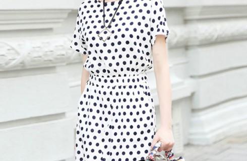 Thời trang váy đầm công sở Hàn Quốc đẹp 2017