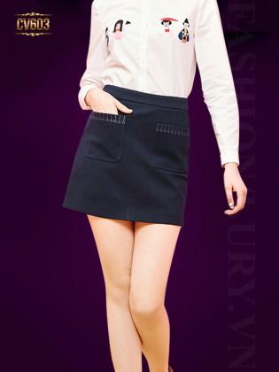 Chân váy ngắn 2 túi trước thời trang CV603