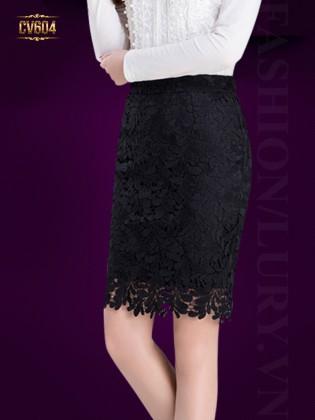 Chân váy ren Hàn Quốc cao cấp CV604