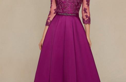 Đầm dạ hội  dài tay  hàn quốc lịch lãm sang trọng