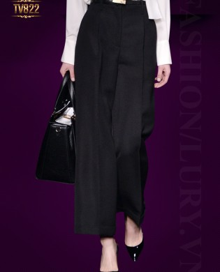 Quần culottes Hàn Quốc cao cấp dáng dài cạp cao thời trang TV822