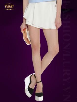 Quần short giả váy Hàn Quốc thời trang TV847 (Màu trắng)