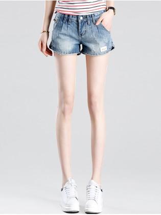 Quần short jean mài N$A đẹp TQ1171