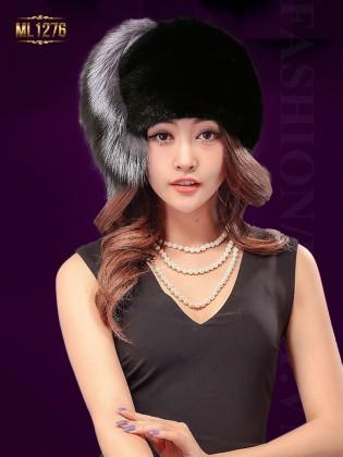 Mũ lông thời trang Hàn Quốc ML1276