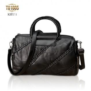 Túi xách da cá tính nhập khẩu cao cấp TU1605 (Kiểu 1)