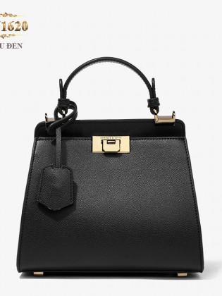 Túi xách CHARLES&KEITH cầm tay màu đen cao cấp TU1620