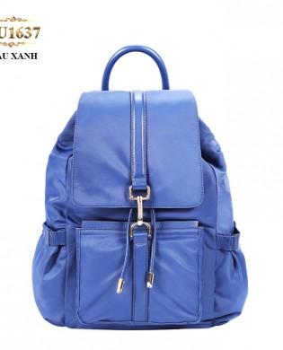 Balo du lịch túi xách cao cấp màu xanh thời trang TU1637 (Màu xanh)