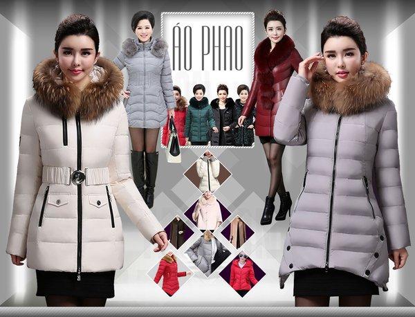 Áo phao lông vũ giúp chống trọi tốt với những cơn mưa tuyết
