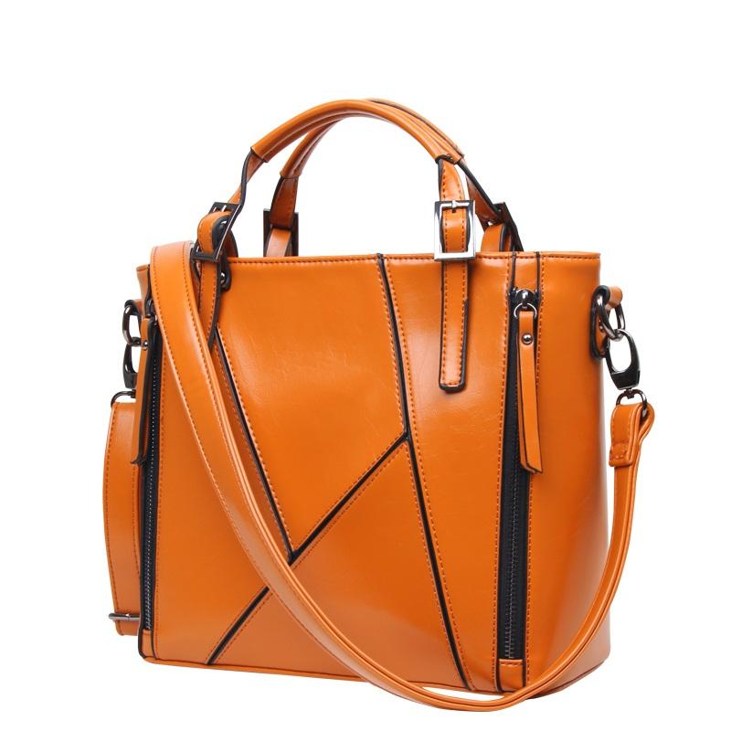 Túi xách tay Tote zip dáng đứng cá tính TU1543