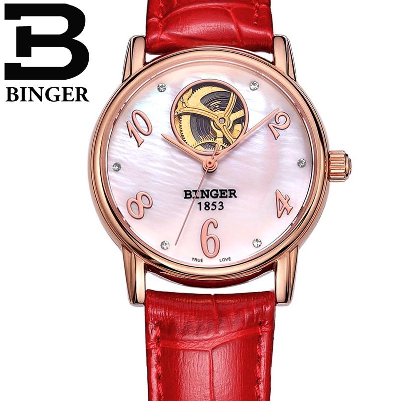 Đồng hồ nữ cao cấp Binger DH934