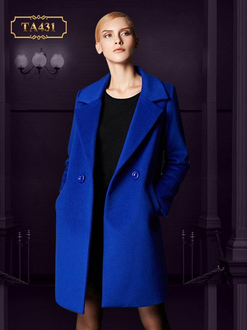 Áo khoác dạ cao cấp 2 cúc thời trang  mới nhất 2019 TA431