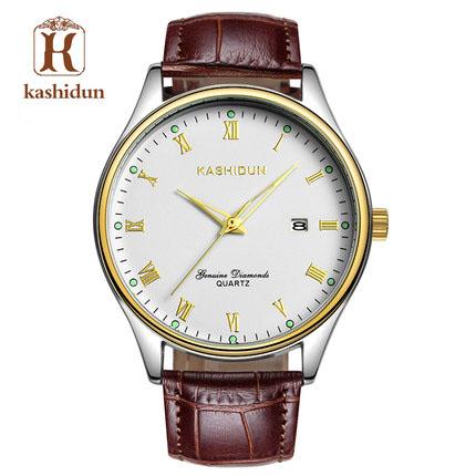 Đồng hồ nam dây da thời trang DHKSD0003