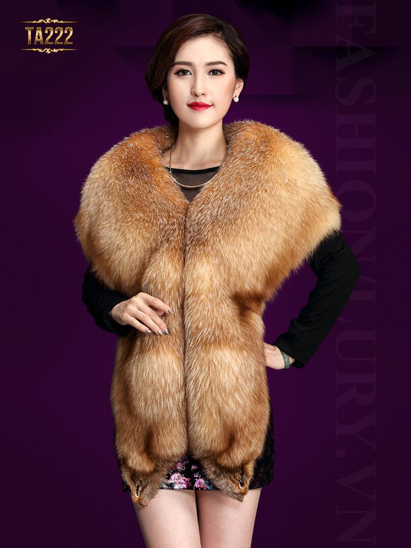 Rất ít các cơ sở bán áo lông thú trên thị trường. Mã sản phẩm TA222. Giá: 29,680,000 VND