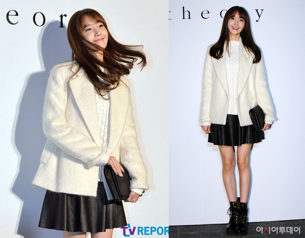 Yoona có công thức mix đồ áo dạ dáng ngắn tạo cảm giác kéo dài đôi chân như siêu mẫu được rất nhiều fashionista học theo
