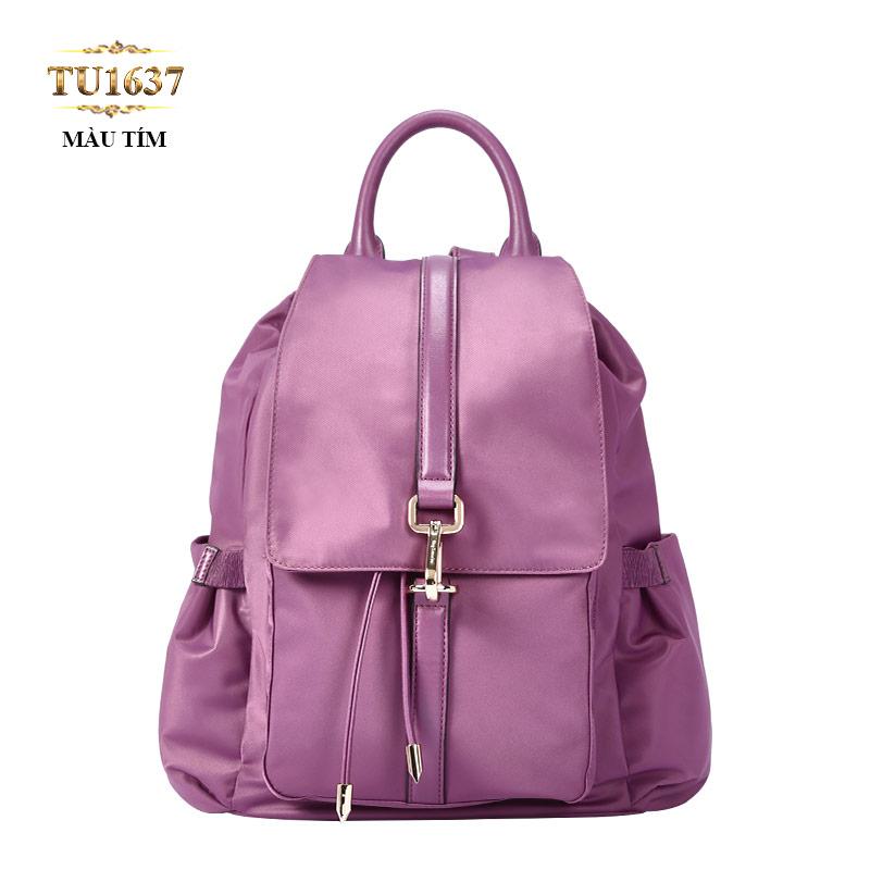 Balo du lịch túi xách cao cấp màu xanh thời trang TU1637 (Màu tím)