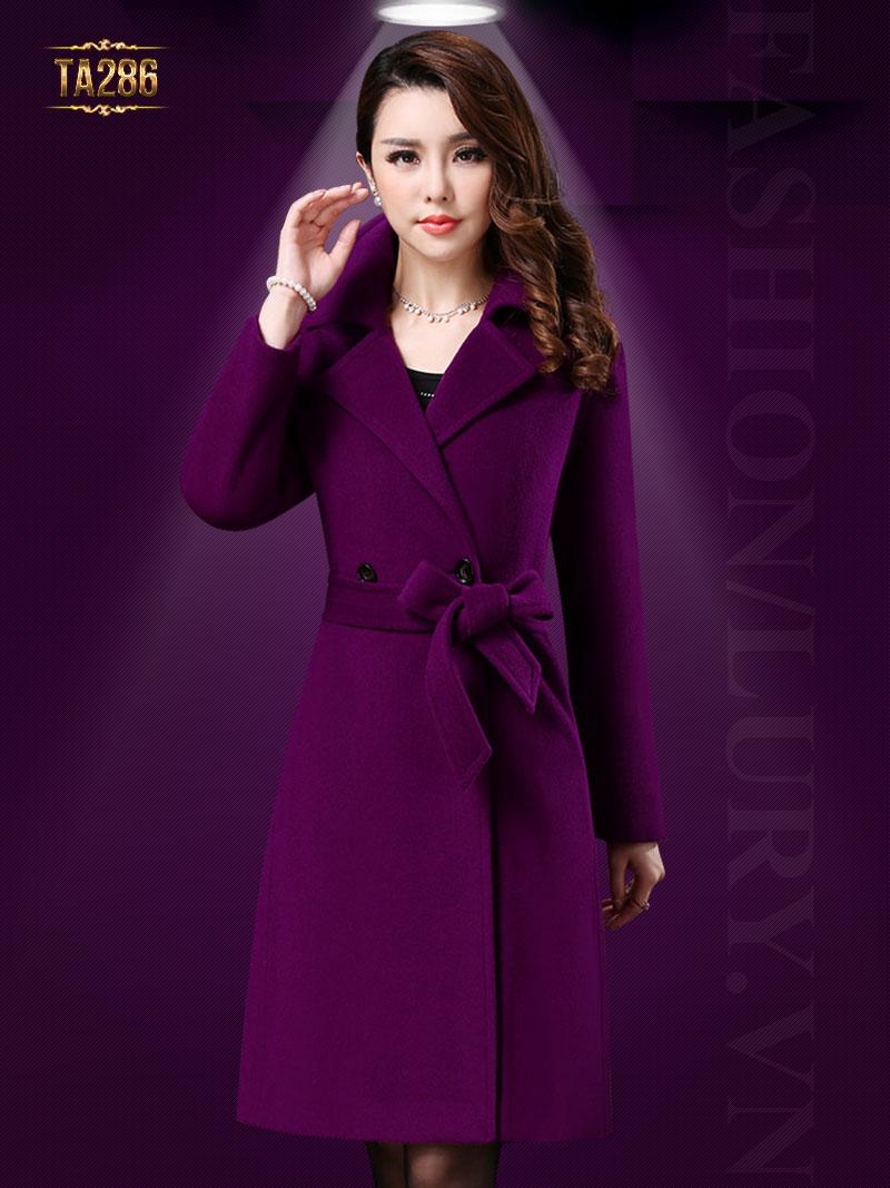 Tổng hợp áo dạ nữ dáng dài mới nhất mùa đông năm nay