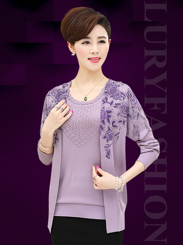 5 mẫu áo len nữ đẹp giá rẻ cho quý cô trung niên
