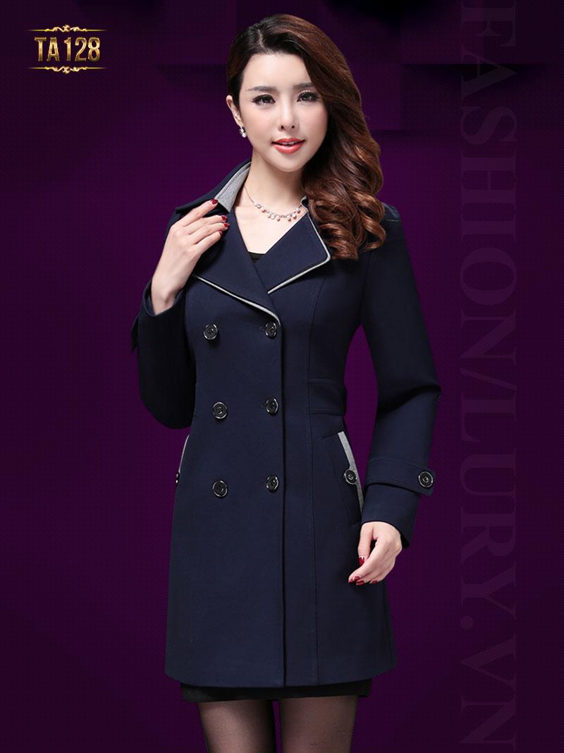 Thời trang áo khoác măng tô nữ cho quý cô công sở