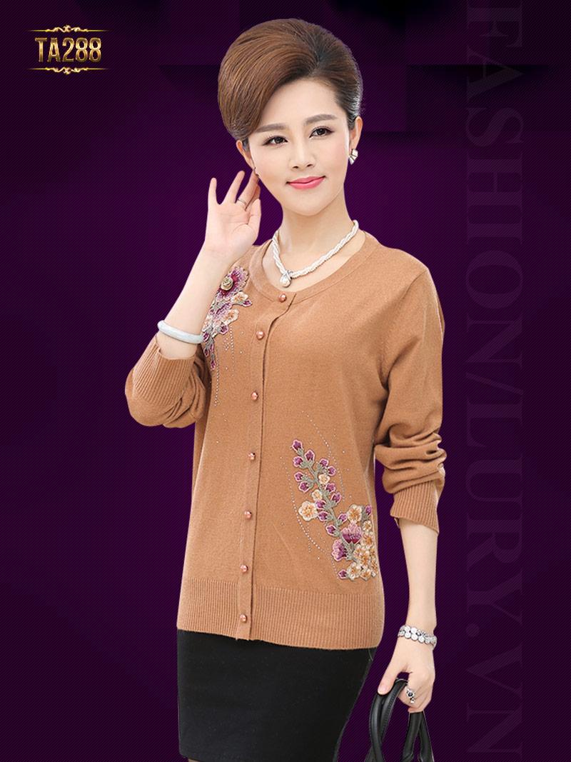 Áo len trung niên Hàn Quốc TA288