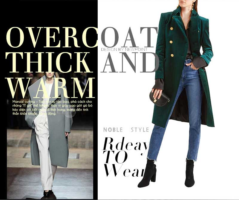 OverCoat - thick and warm