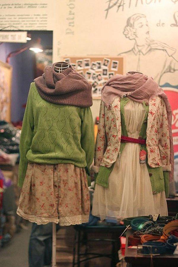 Vintage Boutique là thiên đường hàng thùng của giới trẻ Hà Nội