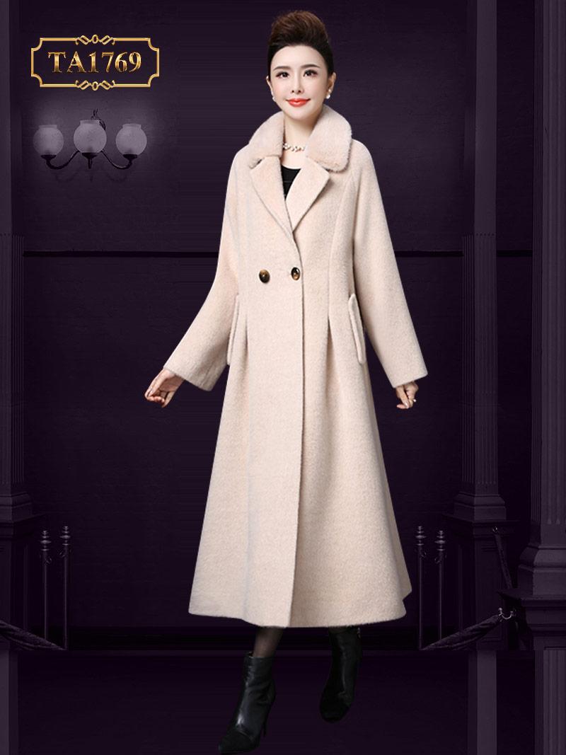 Áo dạ lót lông - một gợi ý hoàn hảo cho các nàng tham khảo TA1769