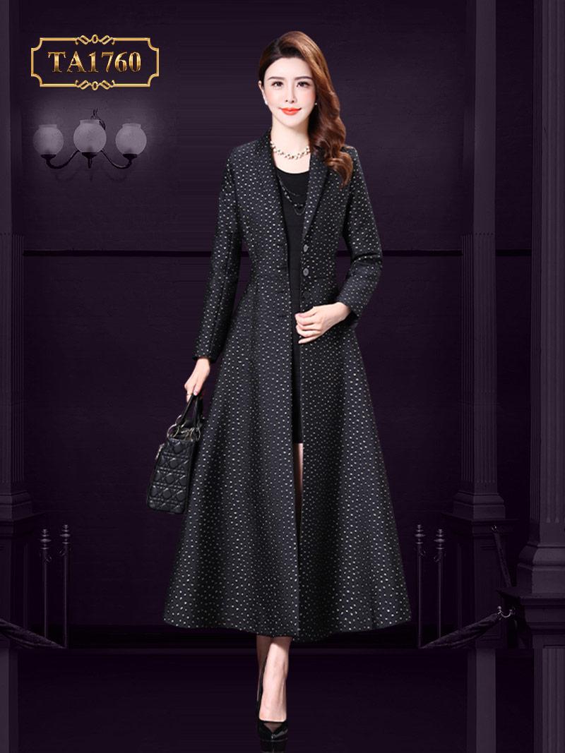 Áo khoác mangto TA1760 dáng váy thời trang mẫu mới 2019