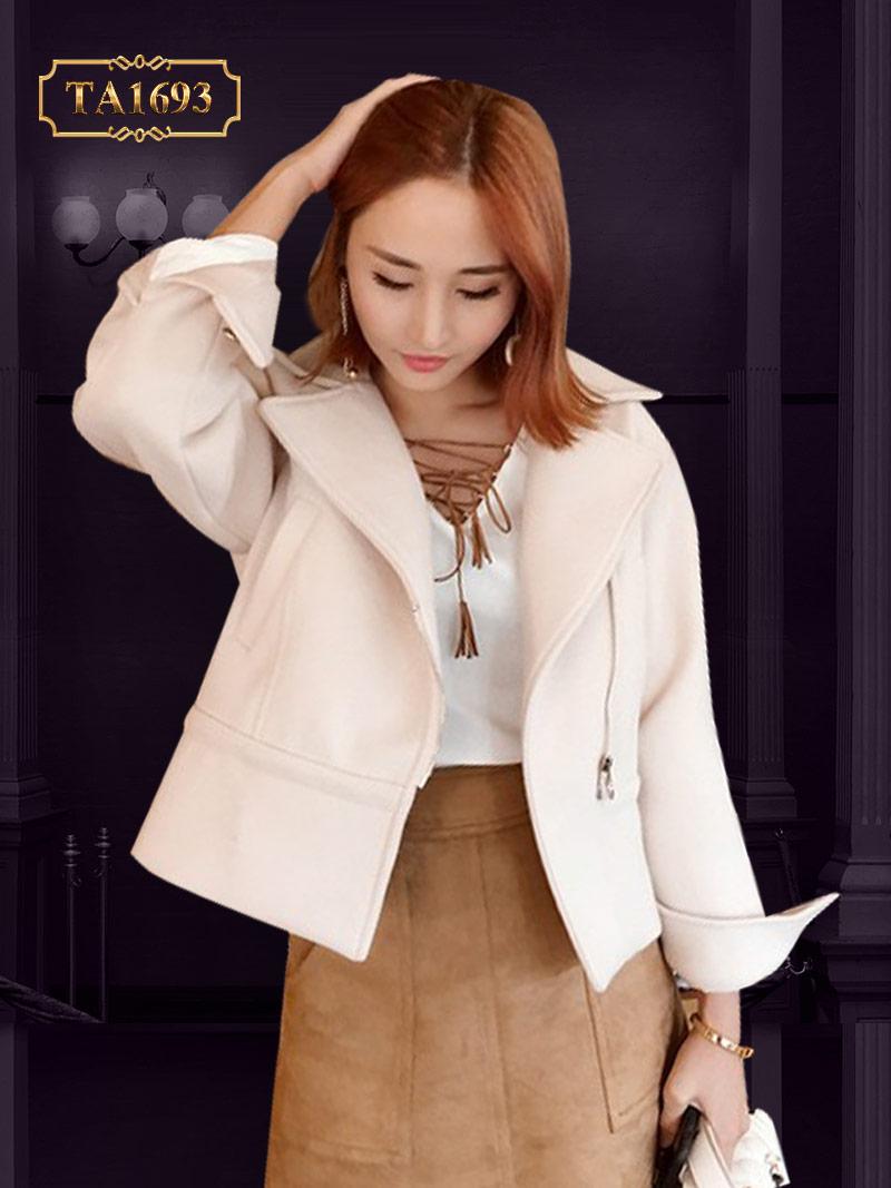 Hút hồn với 5 mẫu áo khoác dạ nữ năm 2017