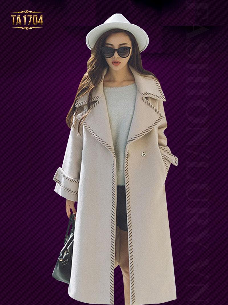 Gợi ý những mẫu áo dạ nữ Hàn Quốc đơn giản nhưng tinh tế