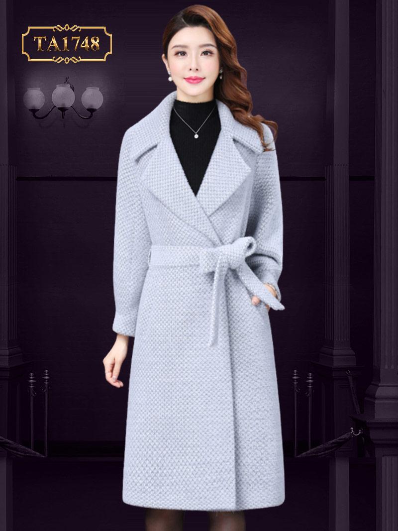 Áo dạ nữ tweed cao cấp thời thượng mẫu mới 2019 TA1748