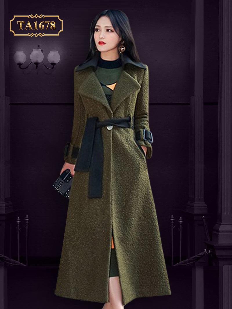 Cách thiết kế cổ vest xòe thân bên dưới thể hiện sự đẳng cấp cho phái đẹp TA1678