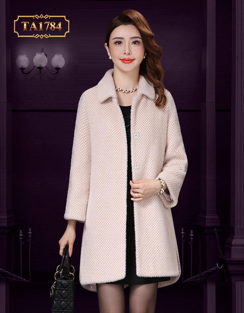 Áo dạ xù cho nữ  TA1784 cao cấp thiết kế thanh lịch mẫu mới 2019