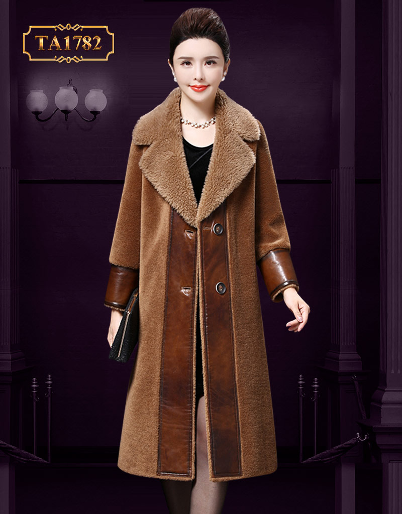 Tuyển chọn những mẫu áo khoác lông đẹp quý cô không nên bỏ qua