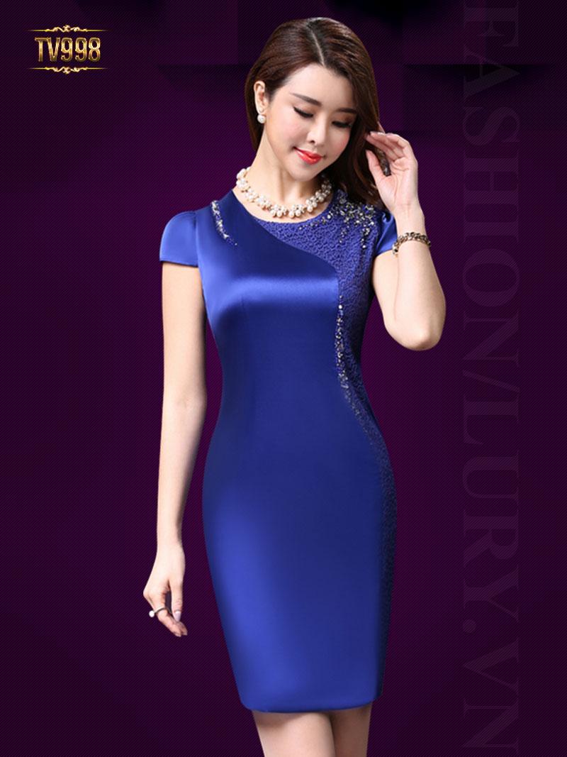 Mẫu váy liền cho chị em năm nay - www.TAICHINH2A.COM