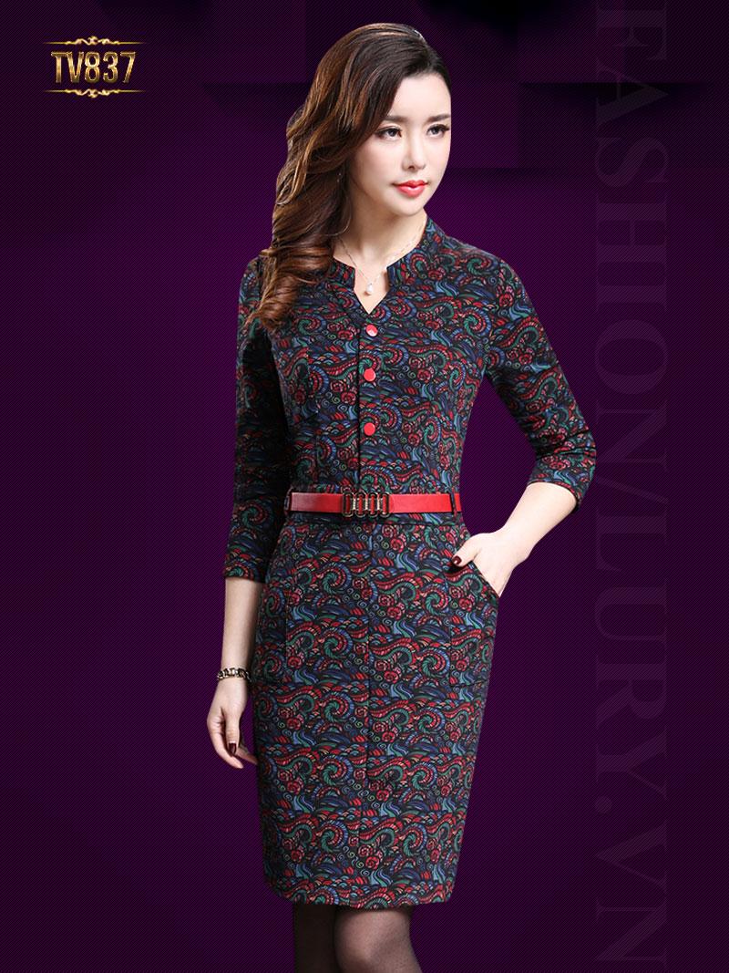 Gợi ý các mẫu váy công sở dành riêng cho quý cô trung niên