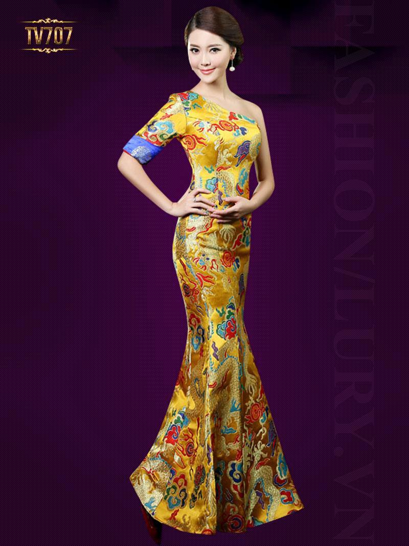 Các mẫu đầm dạ hội cao cấp dành cho phái nữ
