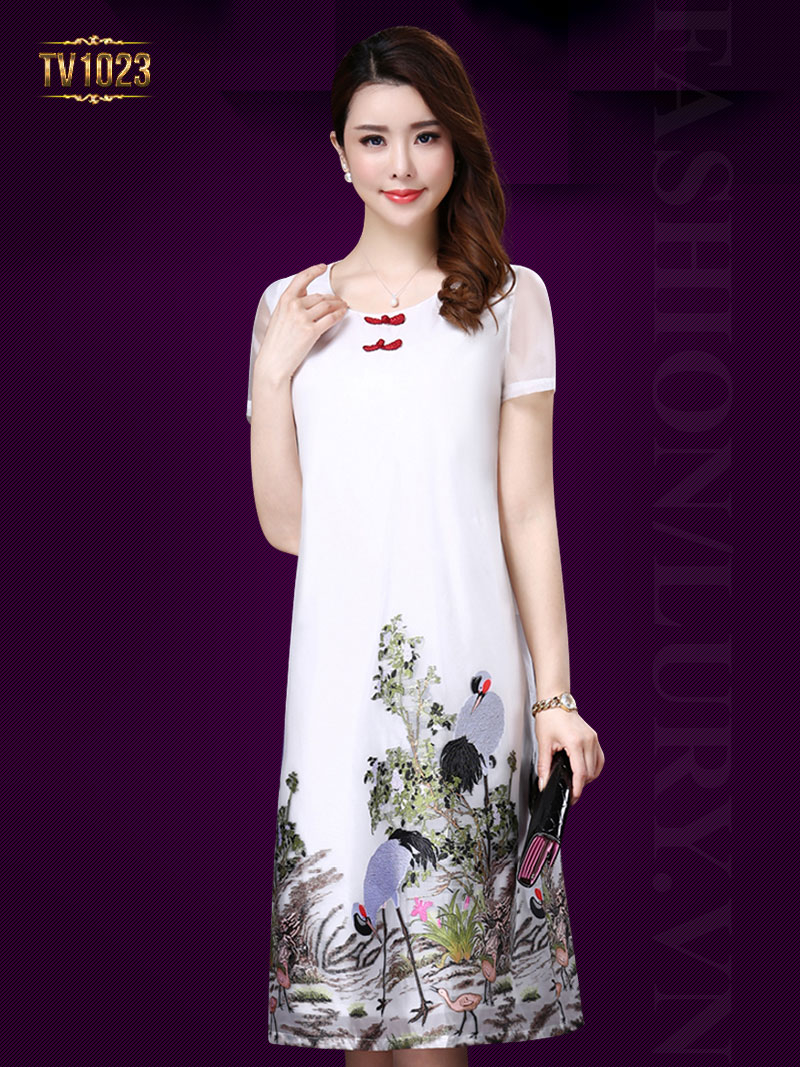 5 mẫu váy cho phụ nữ trung niên tphcm đẹp mê hồn