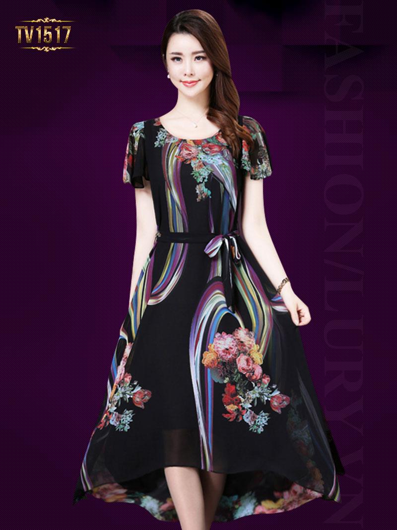 BST Các mẫu mẫu váy đẹp tuổi trung niên sang trọng nhất