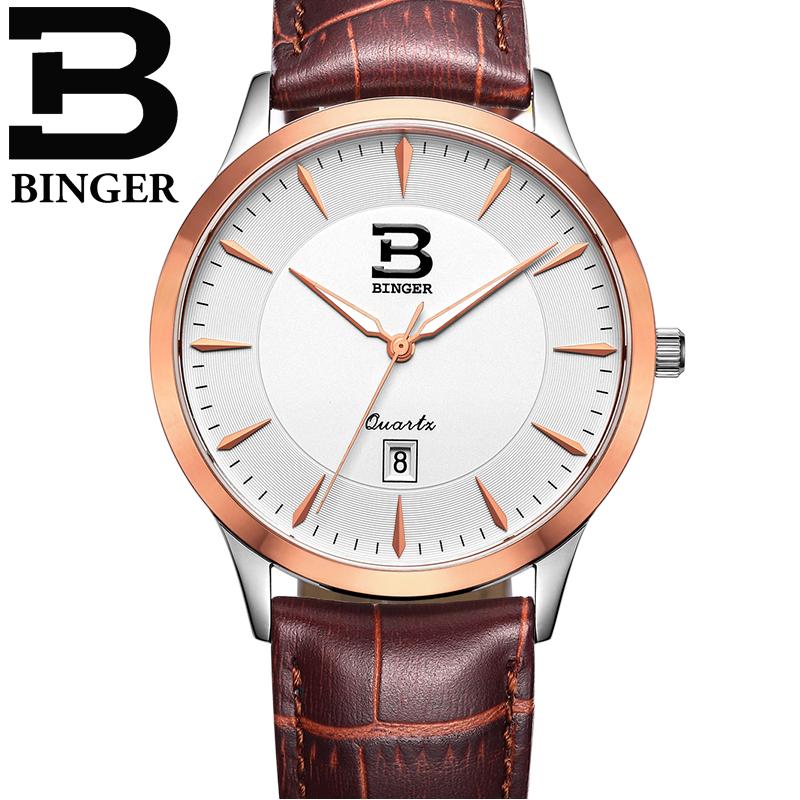 Đồng hồ nam dây da thời trang DH918